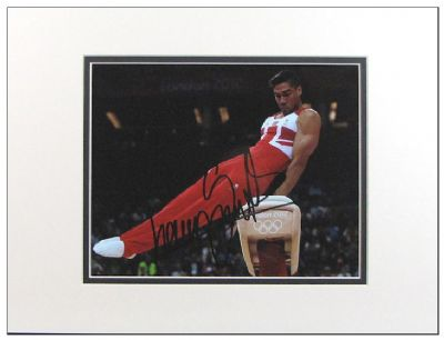 Louis Smith Autograph Photo Signed - Gymnastics